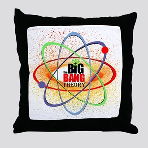 Big Bang Theory  Brights Throw Pillow