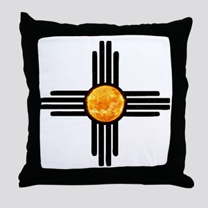 Zia Sun Sky Throw Pillow