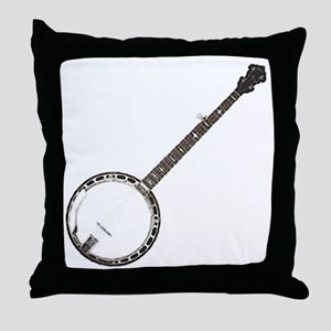 great-theory-blk-T Throw Pillow