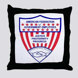 AFGELogoShieldGifB Throw Pillow