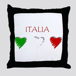 Italy Love Italian style Throw Pillow