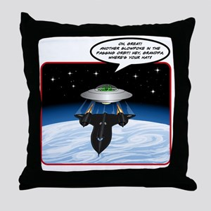 UFO Tailgater Throw Pillow