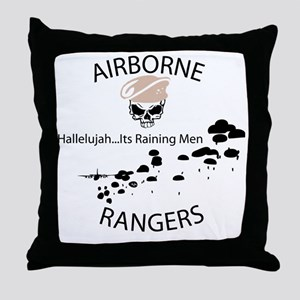 airborne ranger Throw Pillow