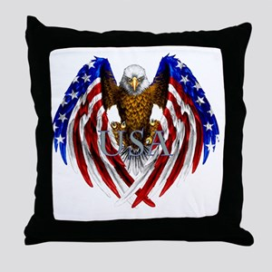 eagle2 Throw Pillow
