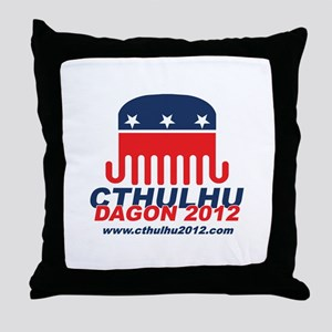 Cthulhu/Dagon2012 Throw Pillow