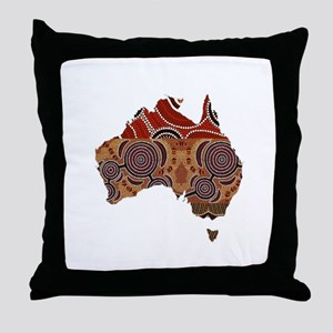 AUSSIE Throw Pillow