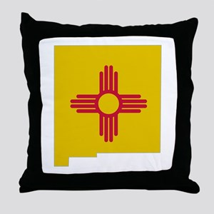 New Mexico Stripe Custom Desi Throw Pillow