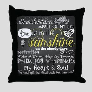 Grandchildren Quotes Pillows - CafePress