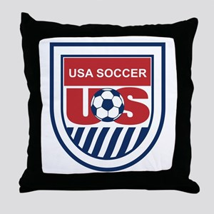 US SOCCER GEAR: Throw Pillow