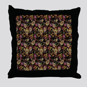 Pretty paisley Throw Pillow