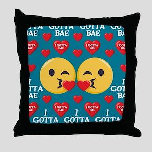 Love Emoji Day Pillows - CafePress