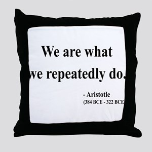 Aristotle 4 Throw Pillow