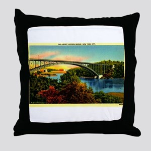 Inwood,NYC Throw Pillow