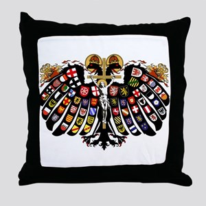 Holy Roman Empire Coat of Arms Throw Pillow