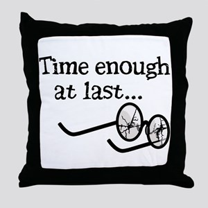 Time Enough At Last Throw Pillow