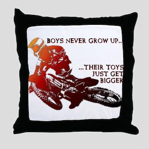 280e3a9d4 Bigger Toys Dirt Bike Motocross Funny T-Shirt Thro