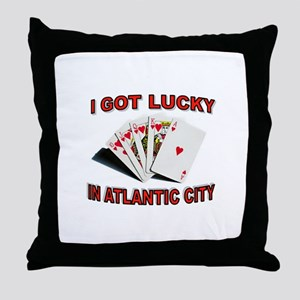 My Lucky Day Throw Pillow