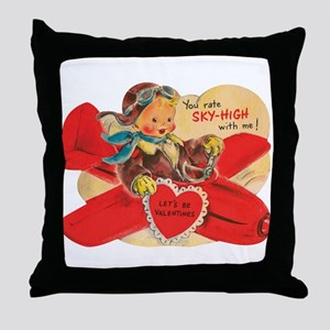 You rate sky-high with me! Throw Pillow
