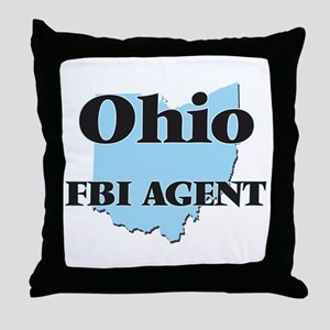 Ohio Fbi Agent Throw Pillow