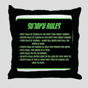 Sudoku Pillows - CafePress