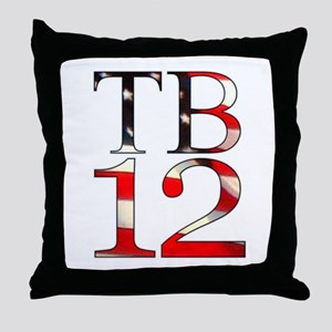 TB 12 Throw Pillow