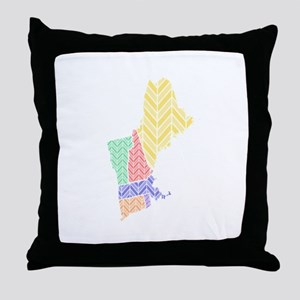 New England Throw Pillow