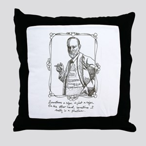 Sigmund Freud Pillows - CafePress
