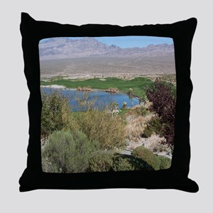 518-iPad2_Cover-las vegas course Throw Pillow