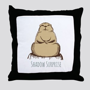 Shadow Surprise Throw Pillow