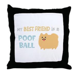 06871b48 Pomeranian Pillows - CafePress