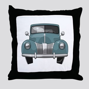 1940 Ford Truck Throw Pillow