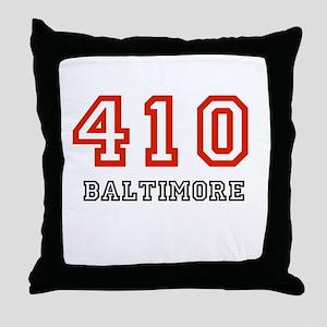 410 Throw Pillow