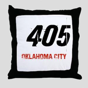 405 Throw Pillow