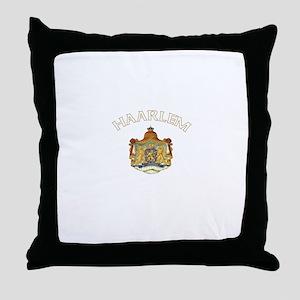 Haarlem, Netherlands Throw Pillow