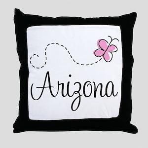 Butterfly Arizona Throw Pillow