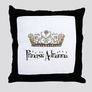 Princess Adrianna Throw Pillow