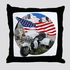 AB55 CP-24 WHITE Throw Pillow