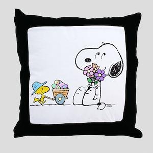 Spring Treats Throw Pillow