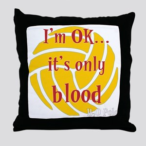 blood_bb Throw Pillow