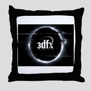 3dfx Throw Pillow