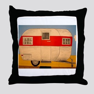 Camper Ham Throw Pillow