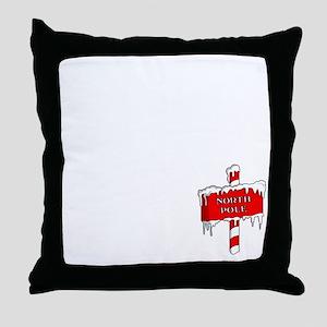 Code-of-Elves Throw Pillow