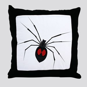 widow_001 Throw Pillow