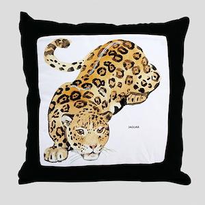 Jaguar Big Cat Throw Pillow