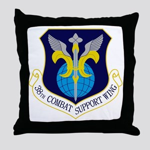 38th CSW Throw Pillow
