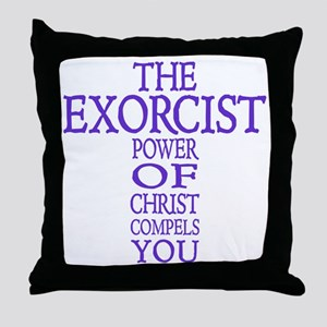 The Exorcist Cross Throw Pillow