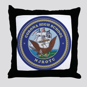 CJ01 CHS CREST Throw Pillow