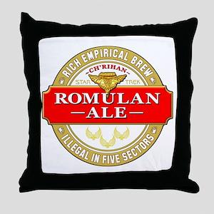 romulan ale Throw Pillow