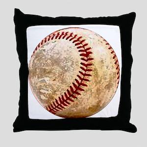 baseball_ball Throw Pillow