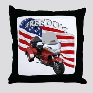 AB08 C-2K FREE RED Throw Pillow